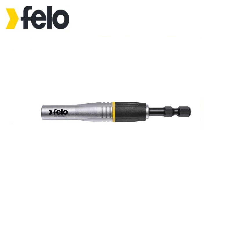 Felo Magnetic holder for percussion bits 1/4 , 95 mm 03829590 For bits with hex shank 6 90degree 0 3mm diamond bits with high quality used for cnc router machine