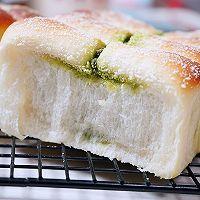 抹茶金砖吐司面包的做法图解11