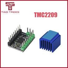 Mks tmc2209 v2.0 tmc2208 stepstick 2.5a uart motorista de motor passo ultra silencioso para gen_l robin nano skr v1.3 mini e3 para ender 3