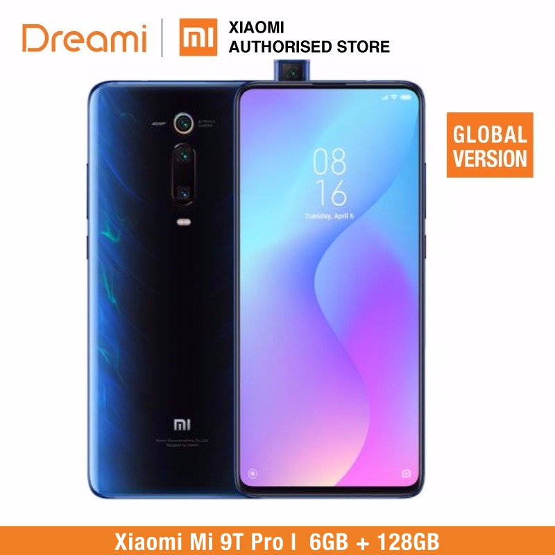 Versão Global Xiaomi mi 6 9T PRO 128GB ROM GB RAM (Brand New e Caixa Selada) mi 9tpro128 ESTOQUE PRONTO