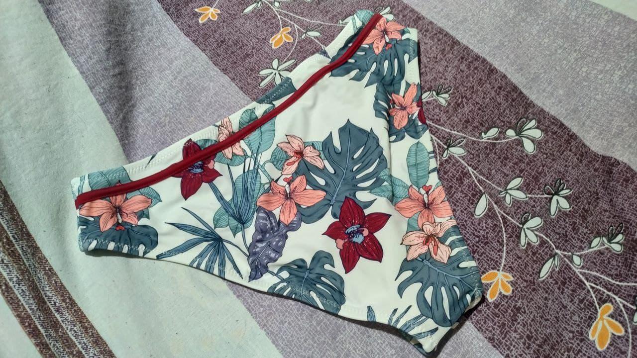CUPSHE Push Up Floral Wrap Bikini Sets Women Sexy Thong Two Pieces Swimsuits 2021 New Girl Beach Bathing Suits Swimwear|Bikini Set|   - AliExpress