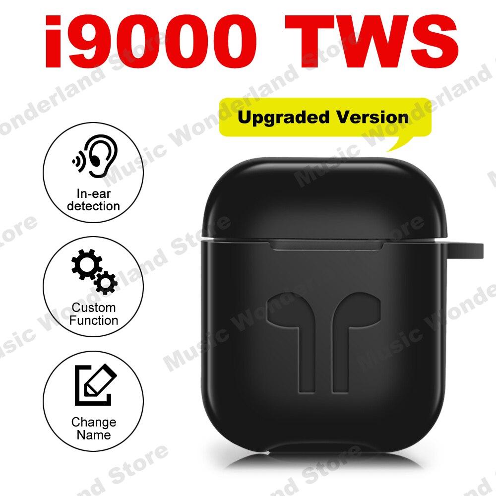 Nouveau i9000 TWS changer de nom dans la détection de l'oreille Pop up sans fil écouteurs 1:1 Air 2 Bluetooth écouteur PK i100 i200 i500 i100000 TWS