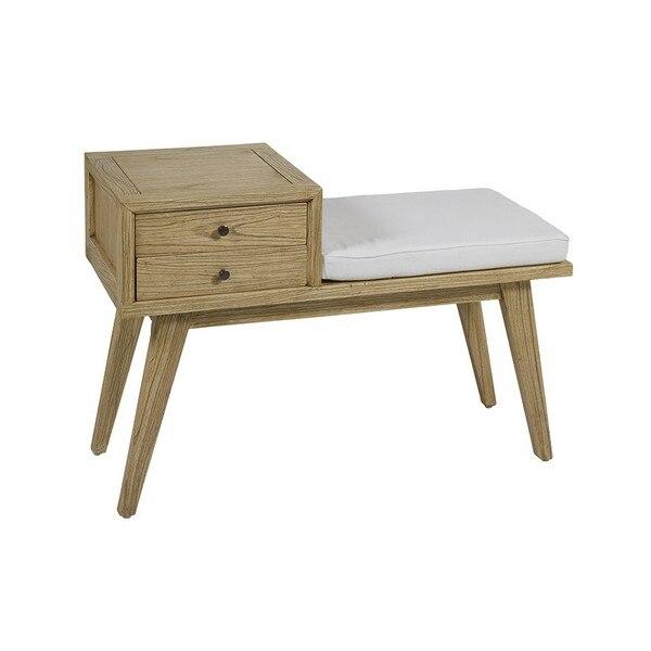 Bench Mindi Wood Plywood (95 X 40 X 67 Cm)