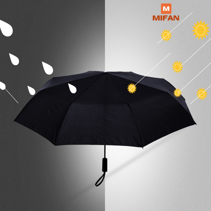 Original New Umbrella Automatic Women Man Sunny Rainy Aluminum Windproof Waterproof