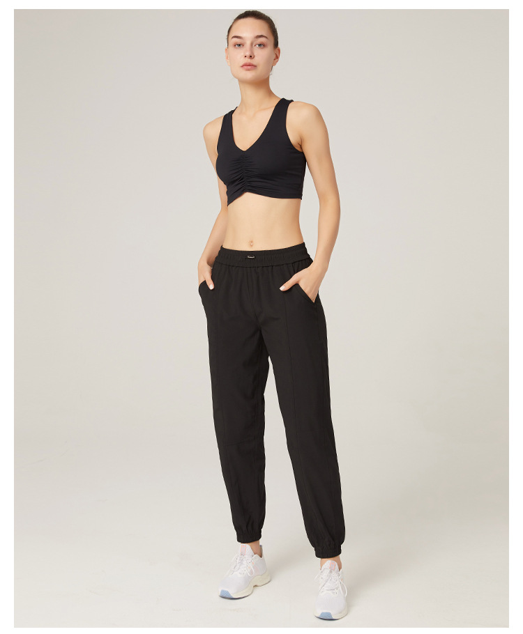 Women's Sport Joggers Running Sweatpants with Pocket
