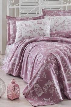 Dom i dom dom podwójna osobowość drukowane Pique Pack Samyeli Lilac Ep-012413 tanie i dobre opinie TR (pochodzenie) Z bawełny i lnu