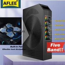 Hotdeal!!1 pçs cinco-band 4g amplificador b20 800 900 1800 2100 2600mhz celular gsm repetidor celular 2g3g4g impulsionador de sinal móvel