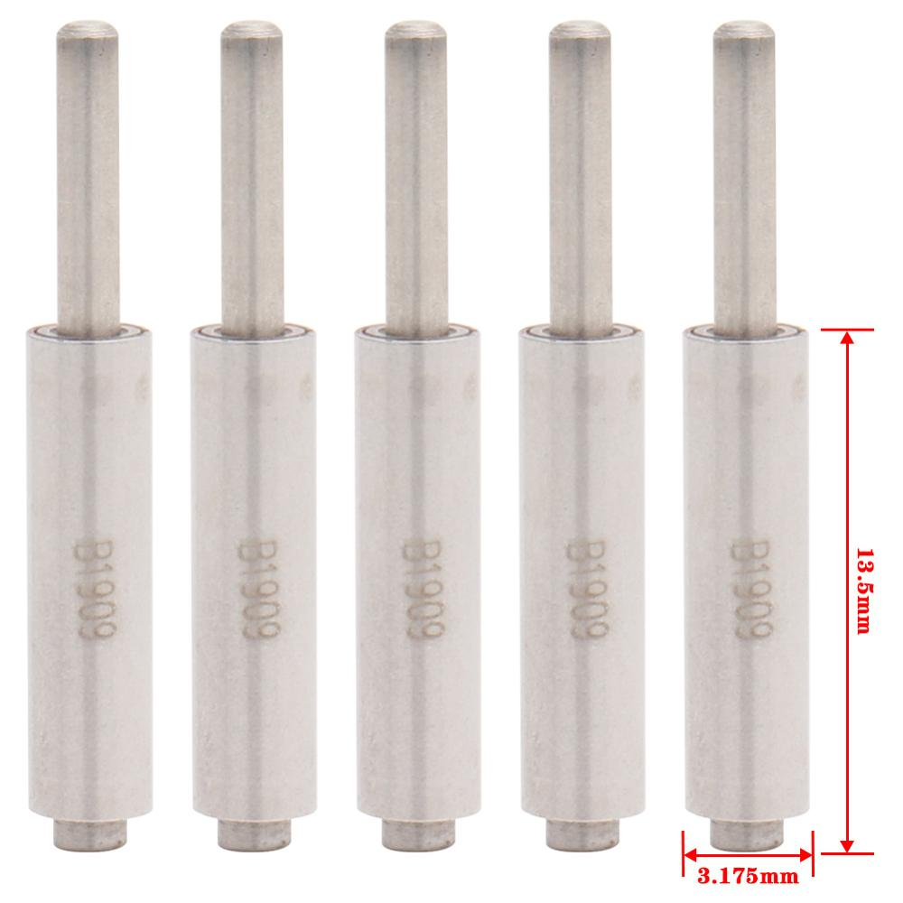 5pcs Spindle/Axis For Dental High Speed Handpiece Air Turbine 13.5*3.175mm Rotor Cartridge