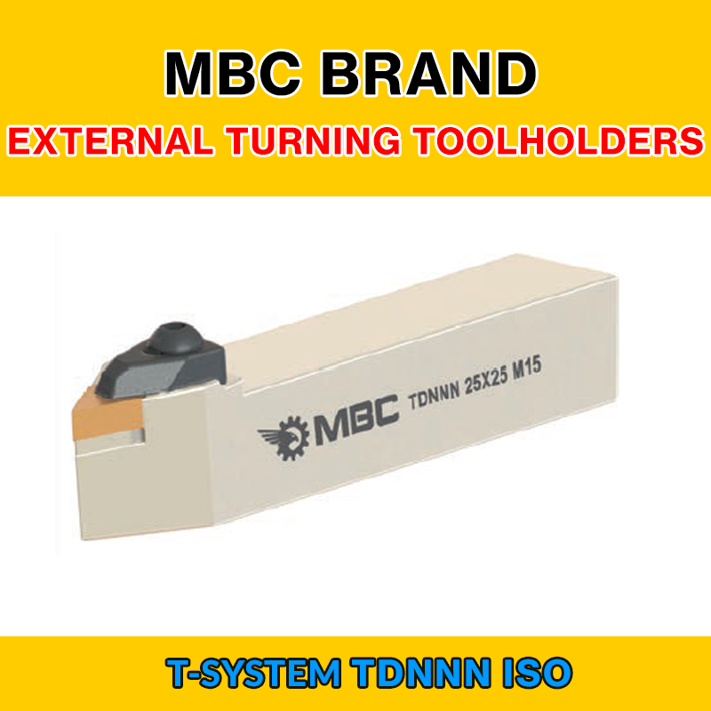 TDNNN 002 ISO T SYSTEM EXTERNAL TURNING TOOLHOLDERS LEFT/RIGHT TDNNN 20X20 K11|Turning Tool| |  - title=