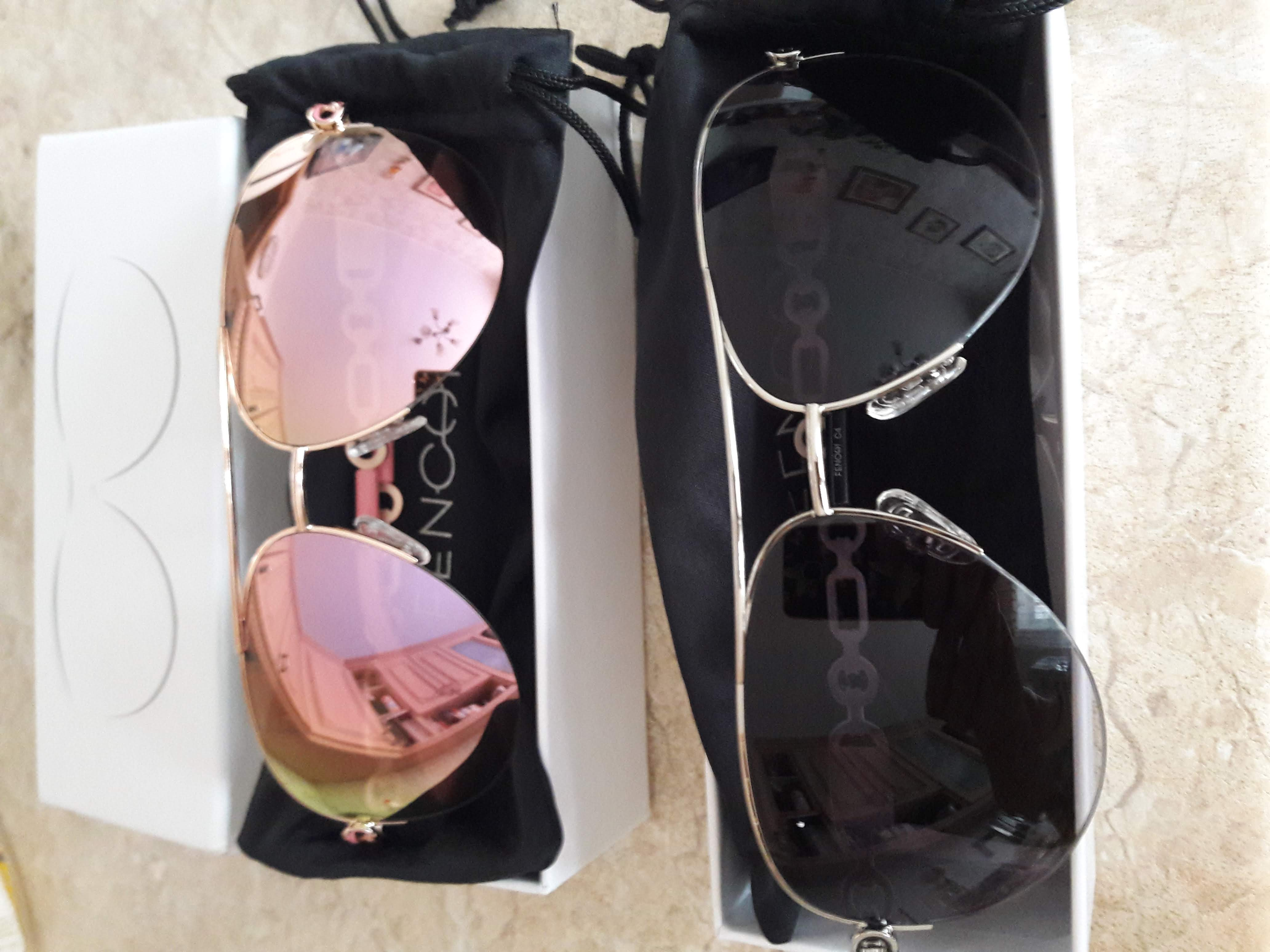 FENCHI sunglasses women uv 400 oculos female glasses sun glasses mirror Pilot Pink feminino zonnebril dames gafas de sol mujer de sol oculos de solsunglasses high quality - AliExpress