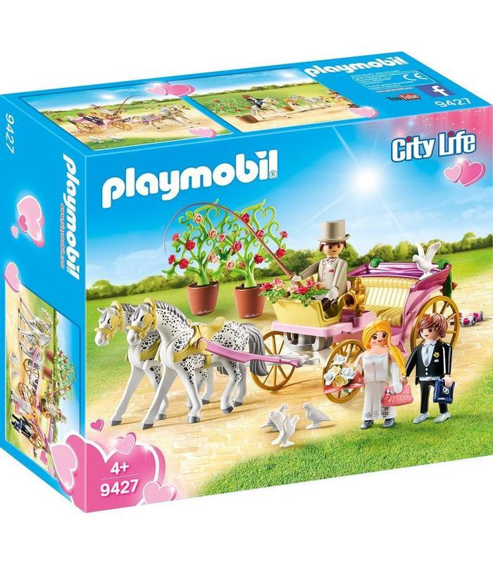 Playmobil 9427 Carriage Bridal Toy Store