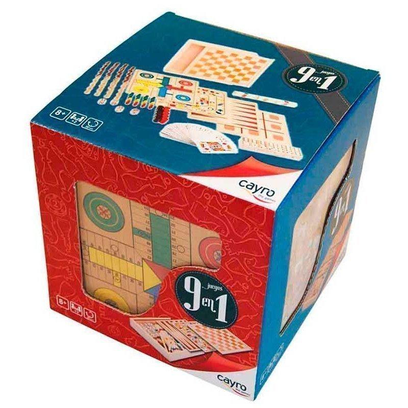 Cubo 9 Juegos En 1