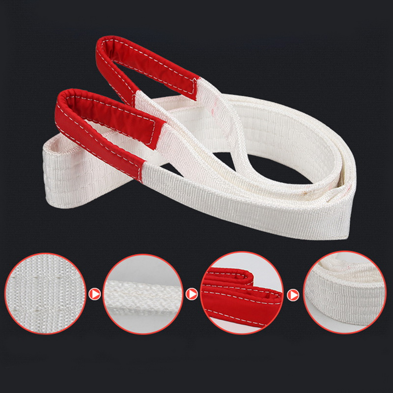 Flat Webbing Sling Endless Industrial Lifting Sling  Stuff-Edge Web Sling  Lifting Flat Sling   1-3m,    1 Tons