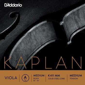 K411-mm Kaplan Forza separado A/LA para Alta, media tensión, D'Addario