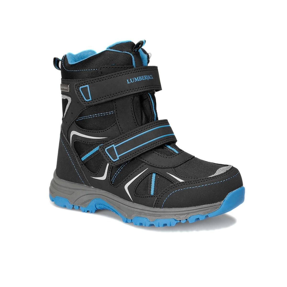 FLO LIGHT 9PR Black Male Child Outdoor Boots LUMBERJACK