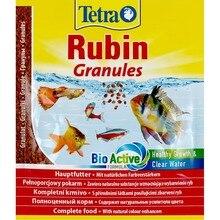 TetraRubin Granules(гранулы) для улучшения окраса всех видов рыб, 15 г