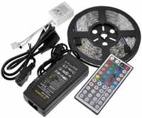 Led strip RGB 5M 300 led SMD 5050 + 44 KEYS + ADAPTER 12v 5A
