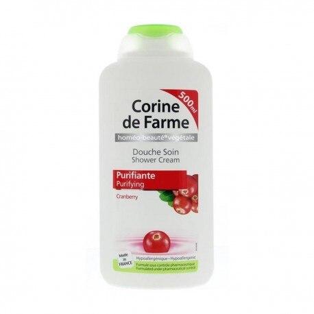 CORINE DE FARME CRANBERRY BODY CREAM BATH 500ML PURIFYING