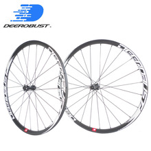 1263g Deercycles Lightest 700C 38mm Asymmetric Carbon Tubular Road Disc Brake Cyclocross Bicycle Wheels CX Bike Wheelset Novatec factory sales disc brake hub carbon wheels clincher tubular chinese cyclocross bike wheels 24 38 50 88mm 700c carbon wheelset