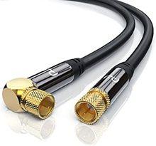 Cables de 2 lineas satelite decodificadores DVB-S2, V8 NOVA, V9 Super, V7, S2X GTMedia AV CAM ARA Freesat