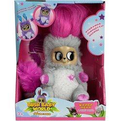Interactieve zachte speelgoed 1Toy Bush baby wereld Puhastiki Bruidsmeisje Lady Lulu 14 cm