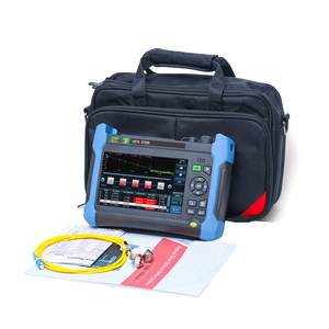 Image 4 - KOMSHINE QX70 S 1310/1550nm, 32/30dB OTDR optical domain reflectometer 128km with VFL,OPM,iolm,inspection probe function