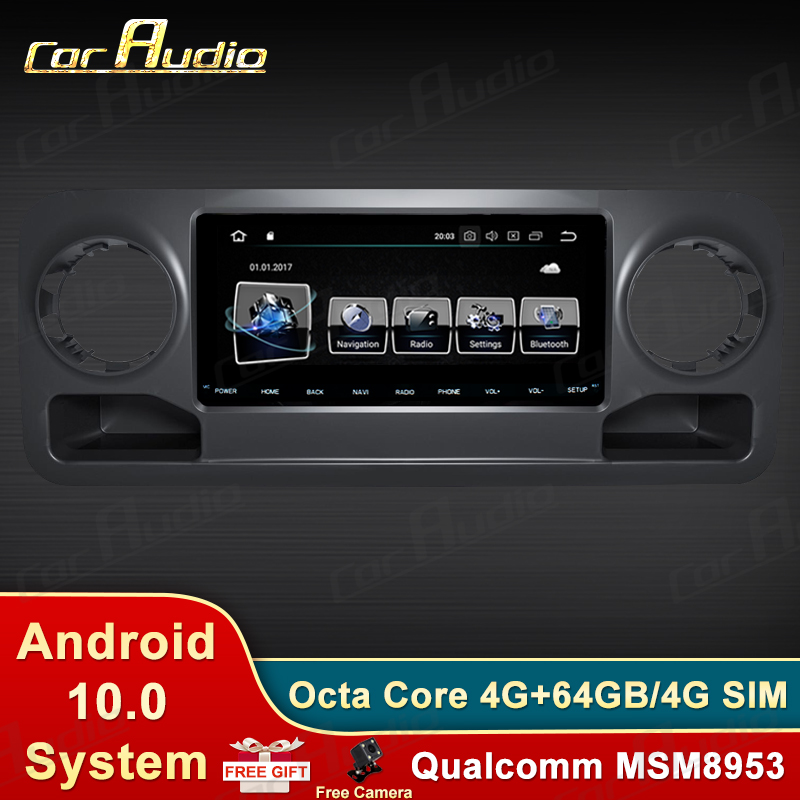 Android 9.0 1din For Mercedes-Benz Sprinter 2019-Car Radio Multimedia Video Player Navigation GPS Car dvd gps BT Carplay WIFI image