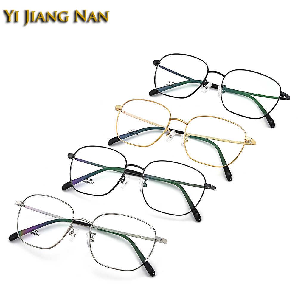 Gafas cuadradas grandes de prescripción para hombres gafas ópticas gafas ligeras modernas montura de gafas monturas para mujeres Oculos de Grau