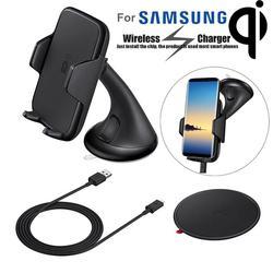 Bezprzewodowa ładowarka telefon samochodowy uchwyt na Samsunga Galaxy Note uchwyt do montażu szybkiego ładowania bezprzewodowego dla telefon komórkowy do samochodu uchwyt stojak