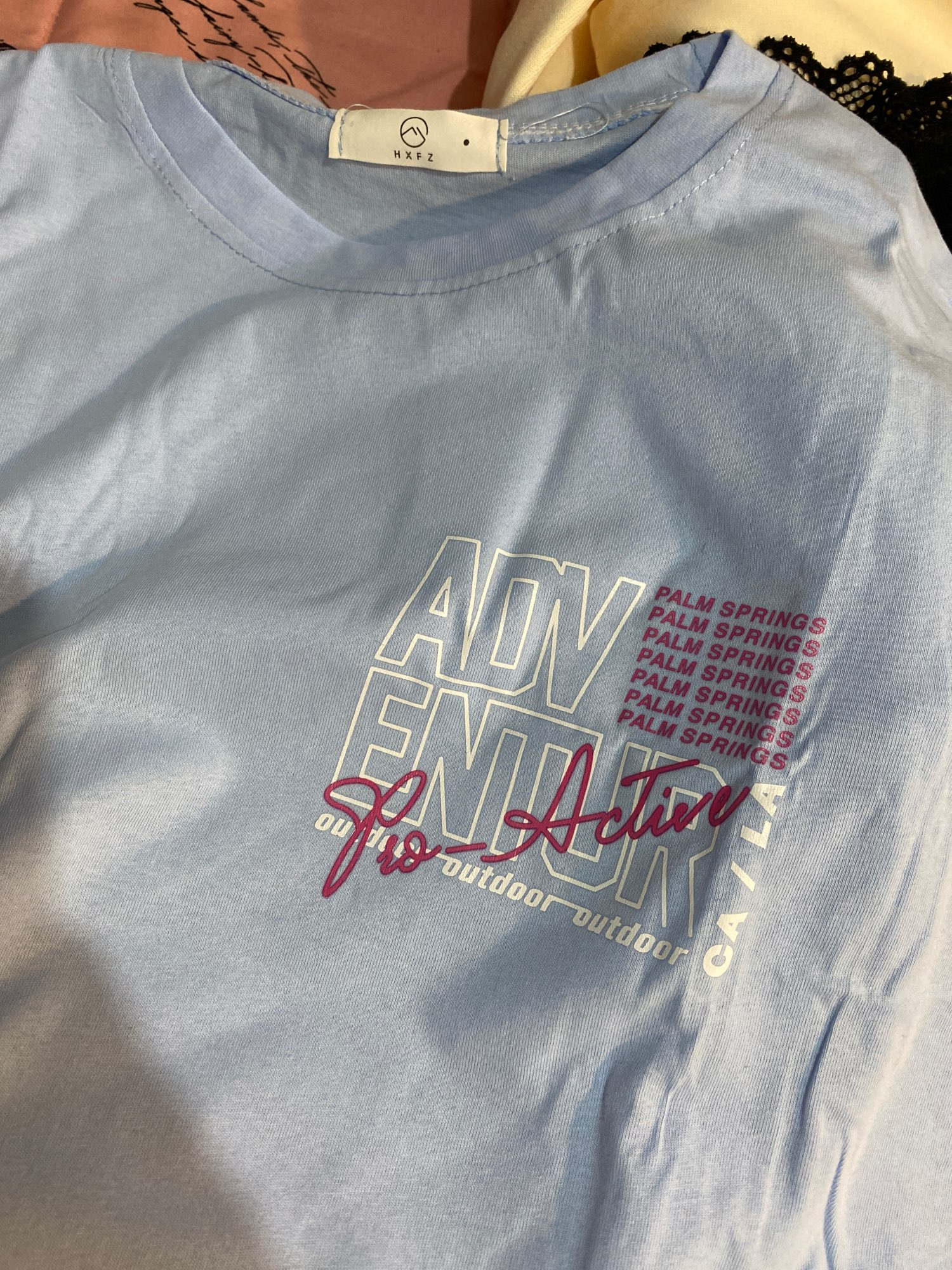 E-girl Harajuku Anime print T-shirt Los Angeles photo review
