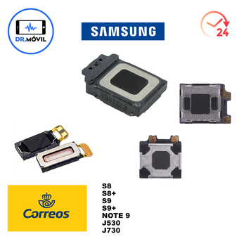 Auricular interno Samsung Galaxy s8 s8 plus s9 s9 plus Note 9...