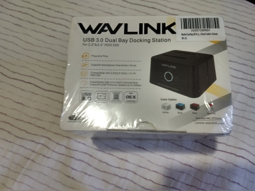 Wavlink Dual Bay SATA to USB3.0 External Hard Drive Docking Station for 2.5/3.5inch HDD/SSD Offline Clone/Backup/UASP Functions reviews №1 38726