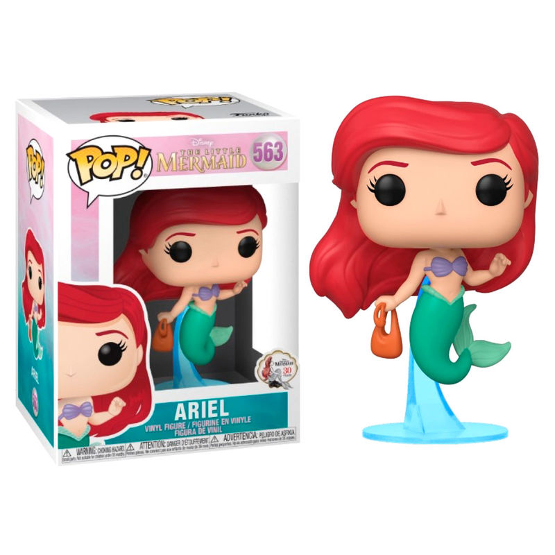 POP Figure Disney The Little Mermaid Ariel With Bag