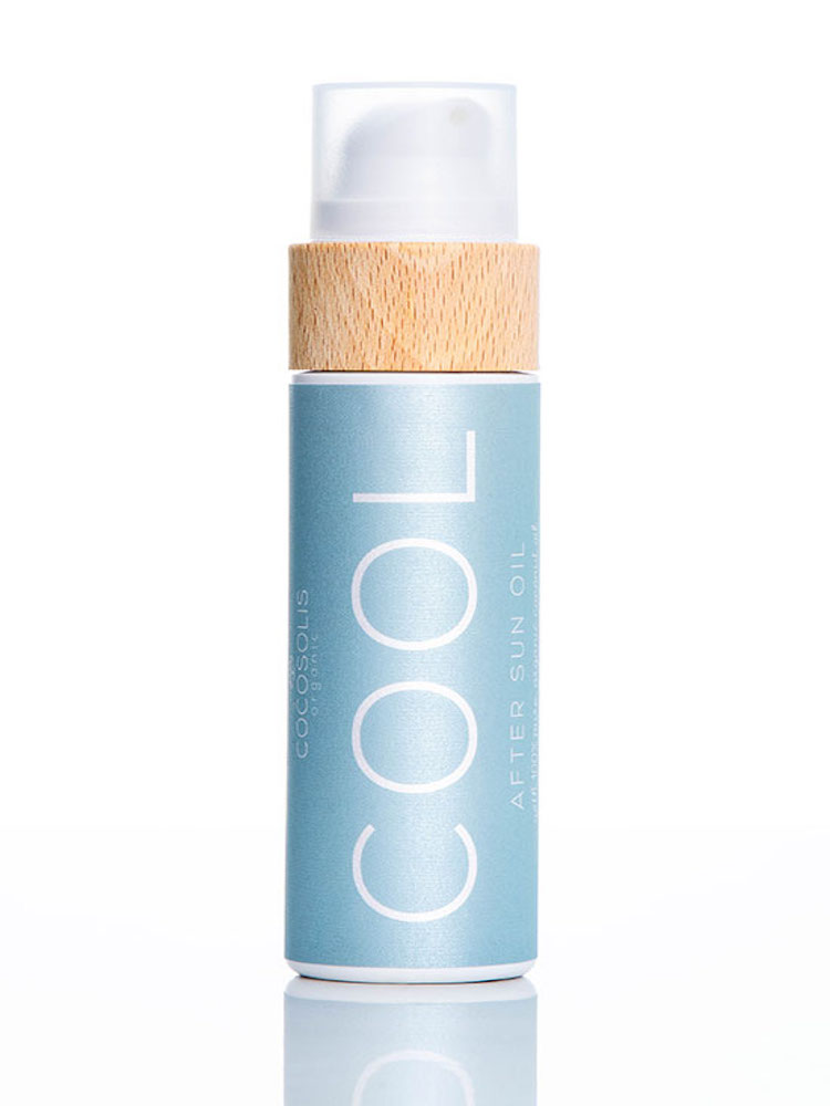 COCOSOLIS COOL After Sun Oil Organic Oil For Tender Hydration And Recovery After Sun Exposure