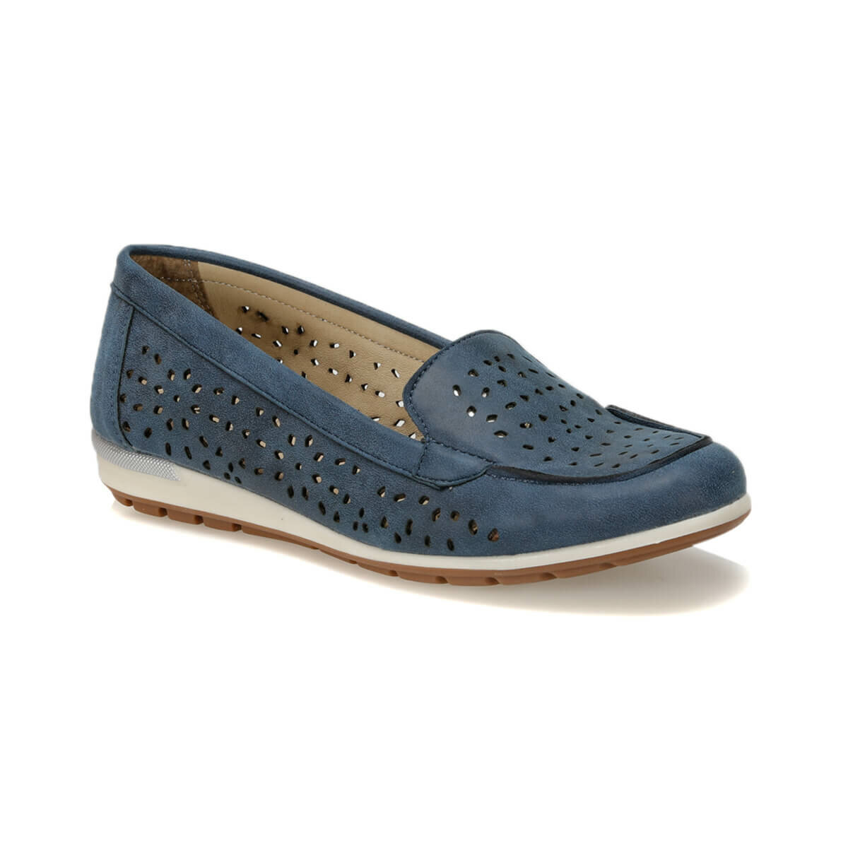 FLO 81.157238NZ Navy Blue Women 'S Loafer Shoes Polaris