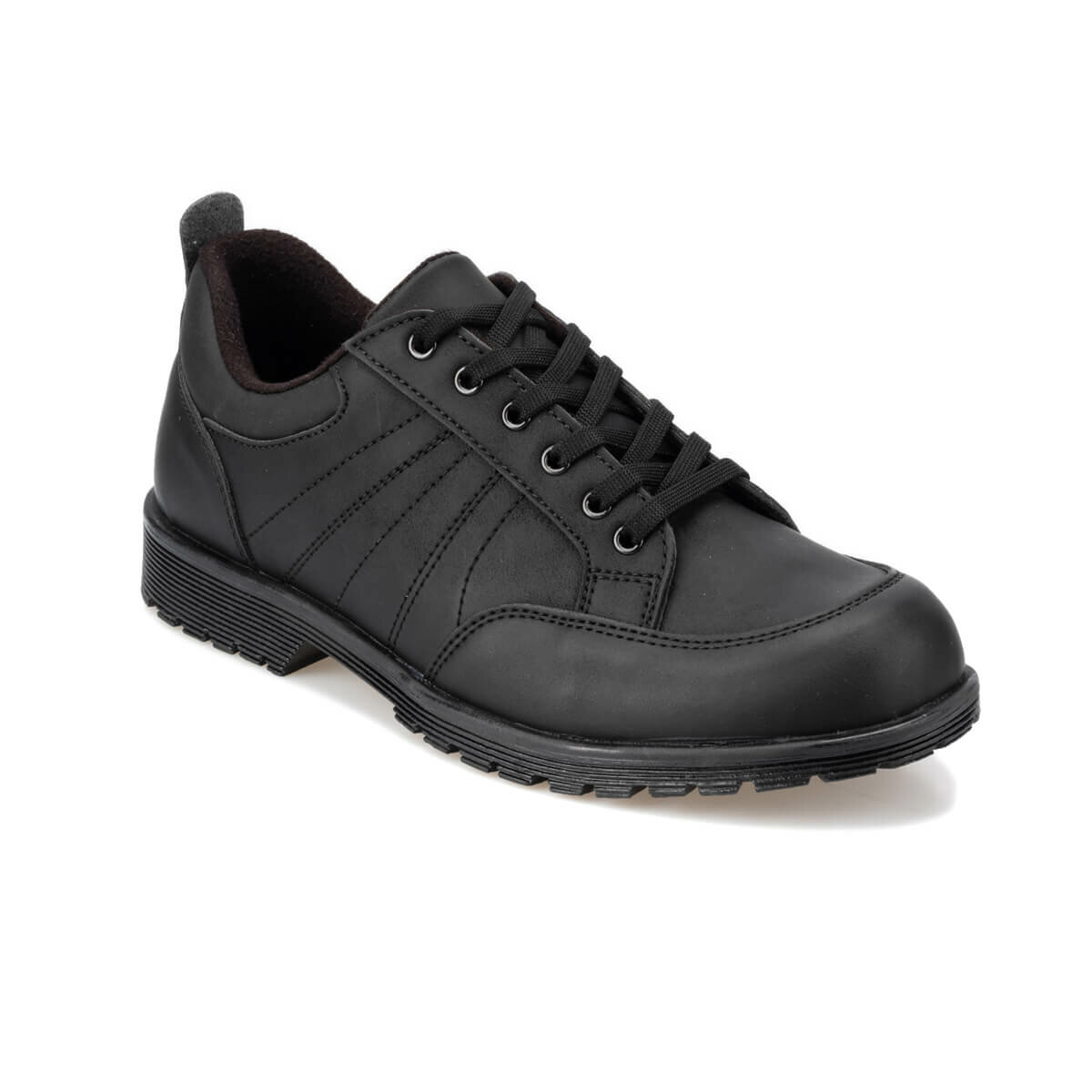 FLO 92.356077.M Black Male Shoes Polaris