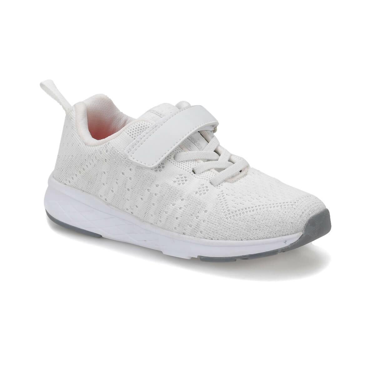 FLO FANCY White Female Child Walking Shoes I-Cool