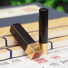 Japanese Hanko Chop Brass Japanese Name Stamp English Name Stamp Custom Wood Stamp Japanese Stationery Chinese Name Seal
