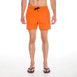 Routefield Volt Orange Mens Board Shorts Swimwear Swimming Beach Short Surf Pants Swimsuits Boardshorts