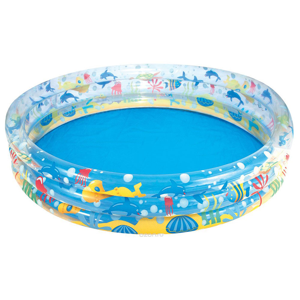 Bestway Pool Inflatable, PVC, 152 х30см, 282л, From 2 Years, Undersea World