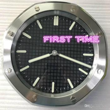 wall clock modern design high quality luxury brand stainless steel FTAP010