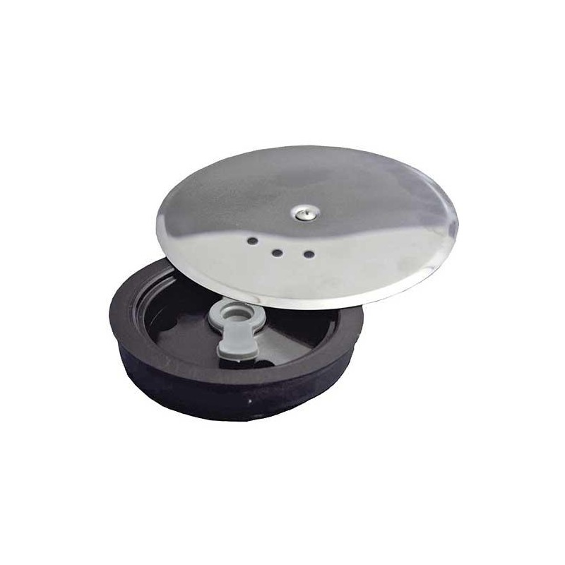Canister Lid Siphon PVC T 89 Ø 110mm. With Aerator