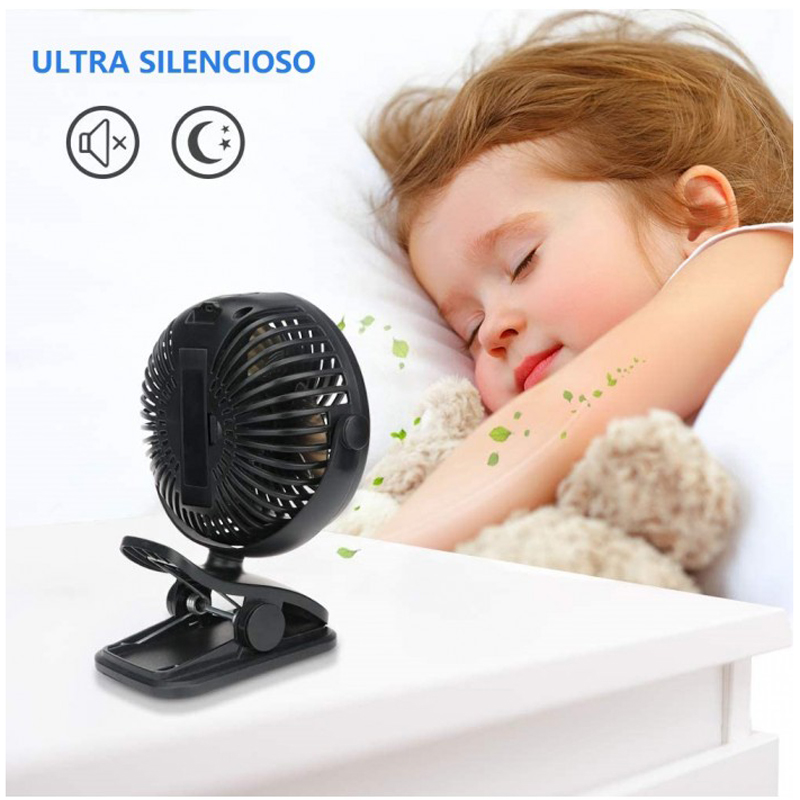 MINI Rechargeable Portable fan with ...
