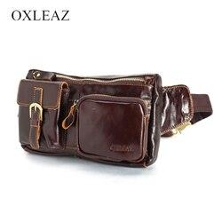 Männer taille tasche aus echtem leder OXLEAZ OX6362