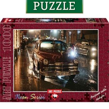 Art Jigsaw Puzzle 1000 Piece Neon Classic