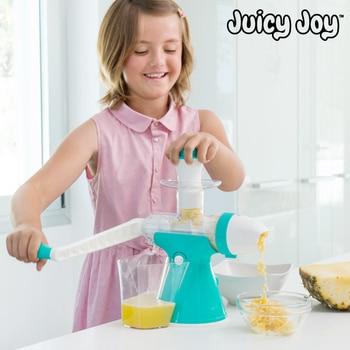 Sappige Vreugde Sap En Ijs Machine Met Handvat-in Yoghurtmakers van Huishoudelijk Apparatuur op