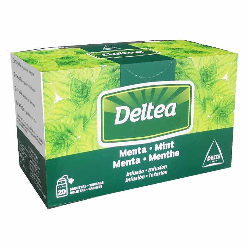 Mint Infusion 20 individual Deltea sachets