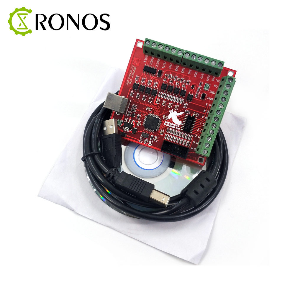 1pcs Breakout Board CNC USB MACH3 100Khz 4 Axis Interface Driver Motion Controller Driver Board image