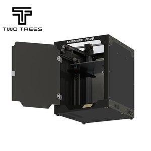 Image 5 - Stampante 3D Twotrees Sapphire Plus COREXY BMG estrusore dimensione massima di stampa 300*300*350mm kit fai da te 3.5 Touch Screen FDM doppio asse Z