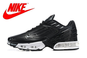 New Arrival Original NIKE AIR MAX PLUS 3 men's running shoes outdoor breathable comfortable non-slip sport sneakers